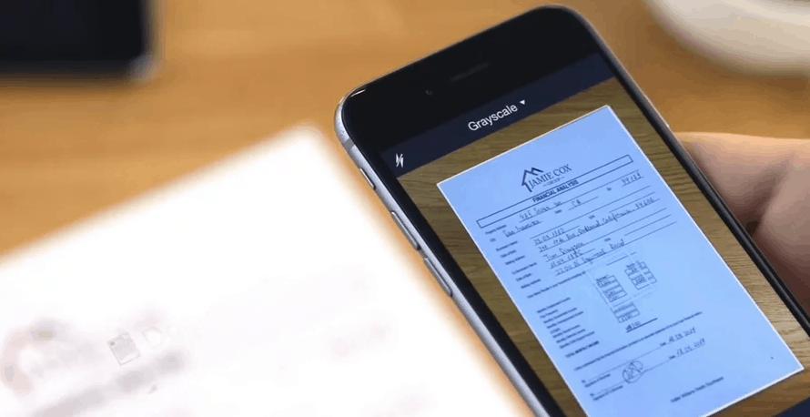 Aplikasi Scan Android