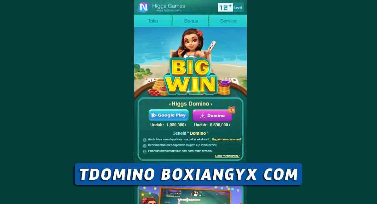 Tdomino Boxiangyx com